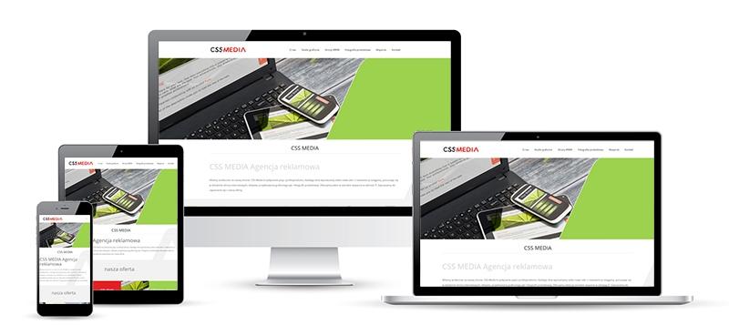 CSS MEDIA Agencja reklamowa - Strony WWW - RWD